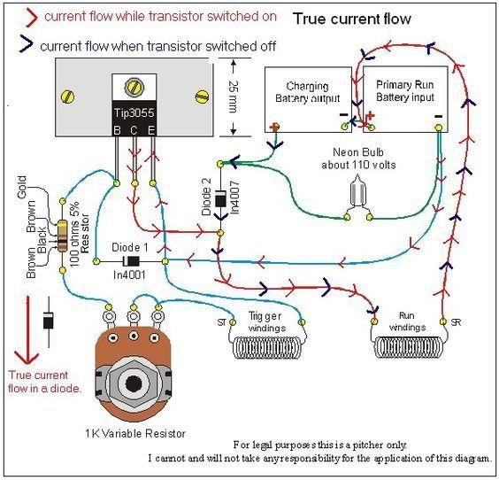 tesla wiring diagram Collection-anti lenz coil Cerca con Google 11-n