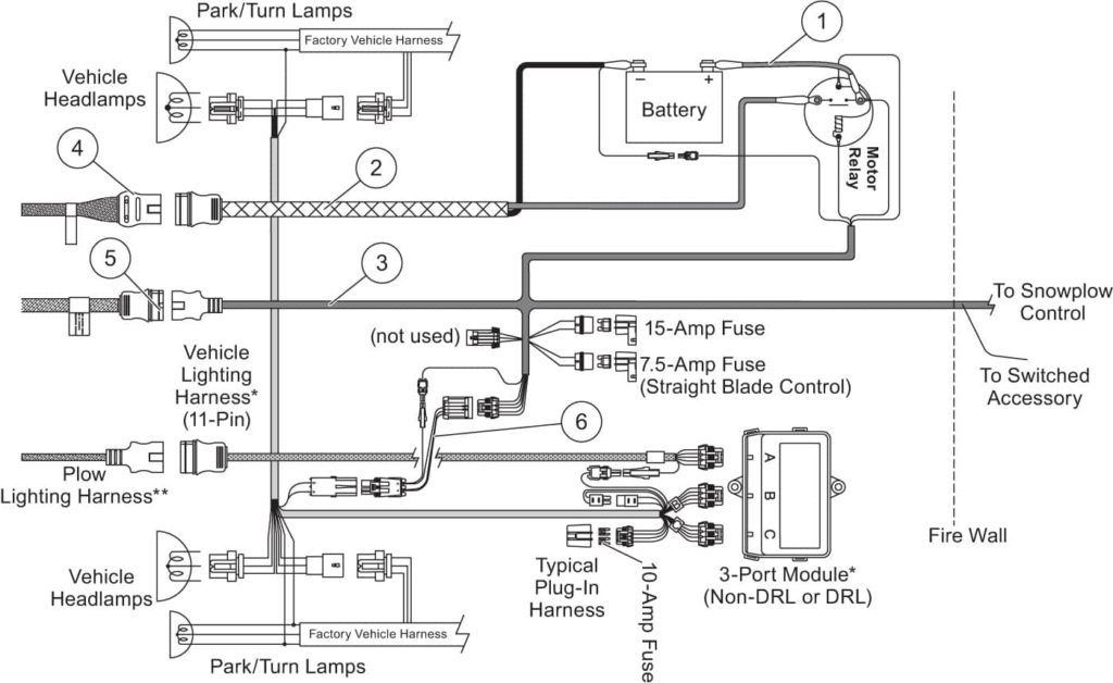 the boss snow plow wiring diagram gallery wiring diagram sample rh faceitsalon com boss snow plow wiring problems boss snow plow wiring harness