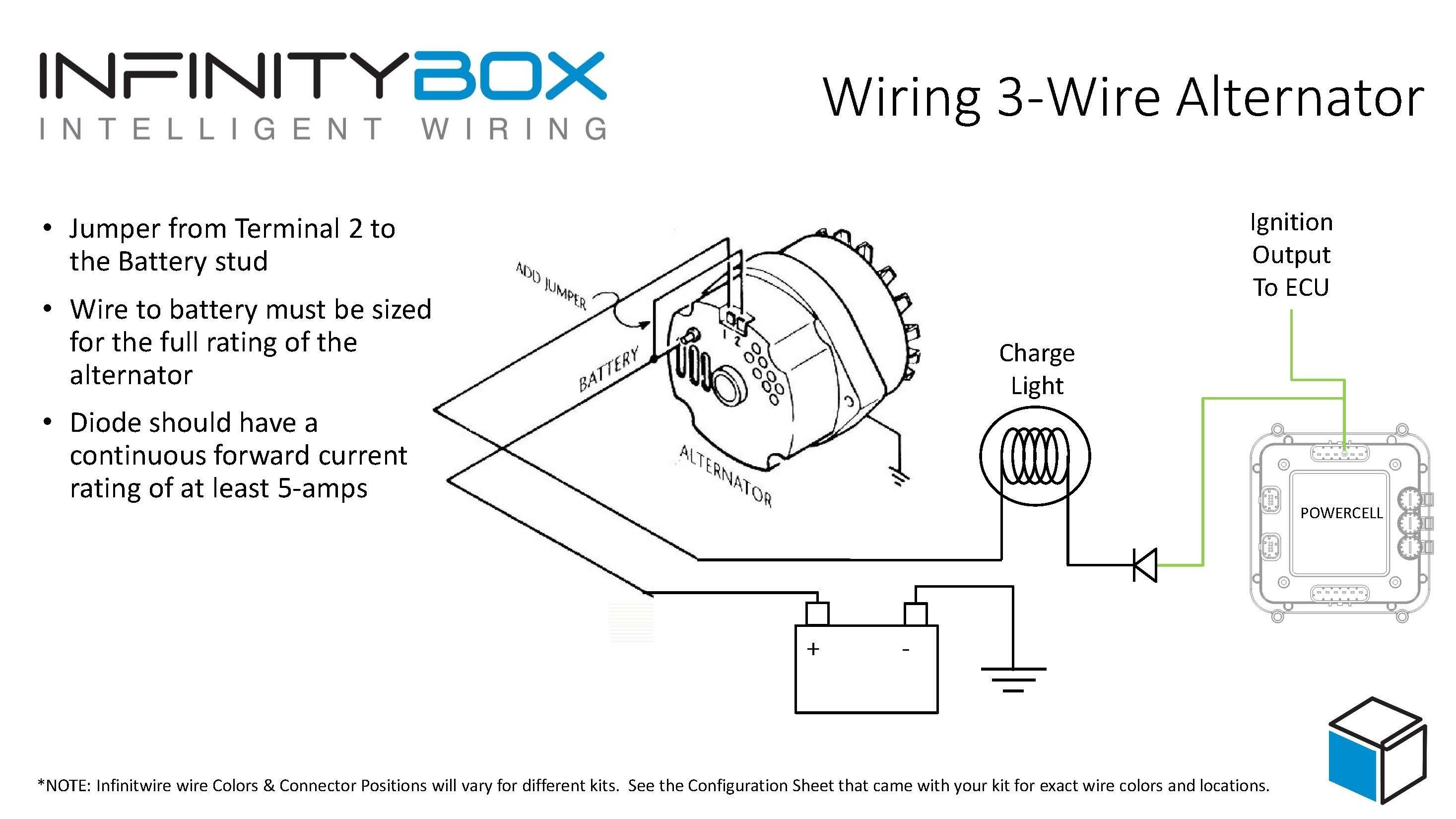 three wire alternator wiring diagram Collection-3 Wire Alternator Wiring Diagram Chevy Fresh Best Wiring Diagram Alternator ford Irelandnews 10-g