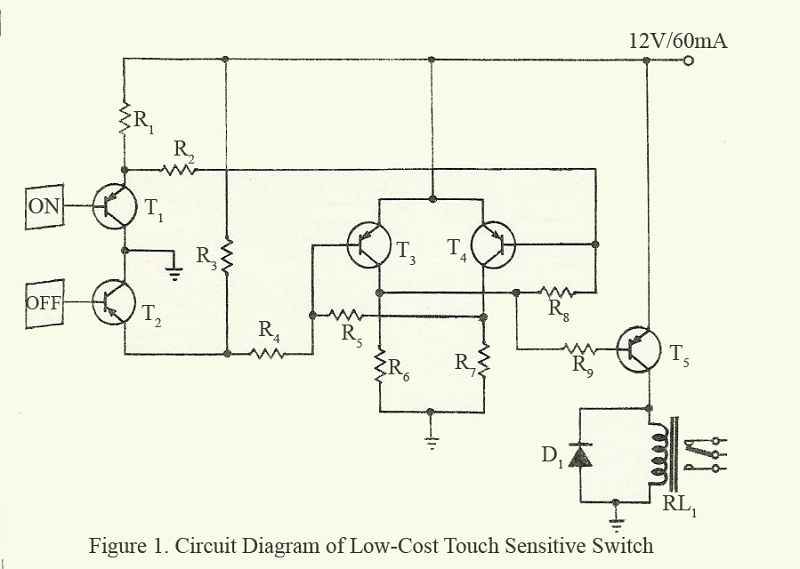 touch dimmer wiring diagram Download-circuit diagram of low cost touch sensitive switch 10-p