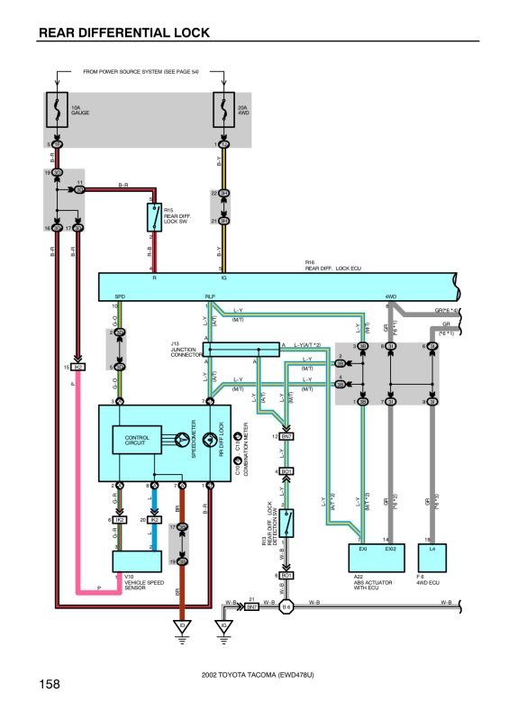 Toyota E Locker Wiring Diagram Collection   Wiring Diagram Sample