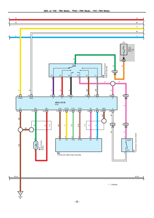 toyota electrical wiring diagram Download-2009 2010 toyota corolla electrical wiring diagrams 10 638 17-p