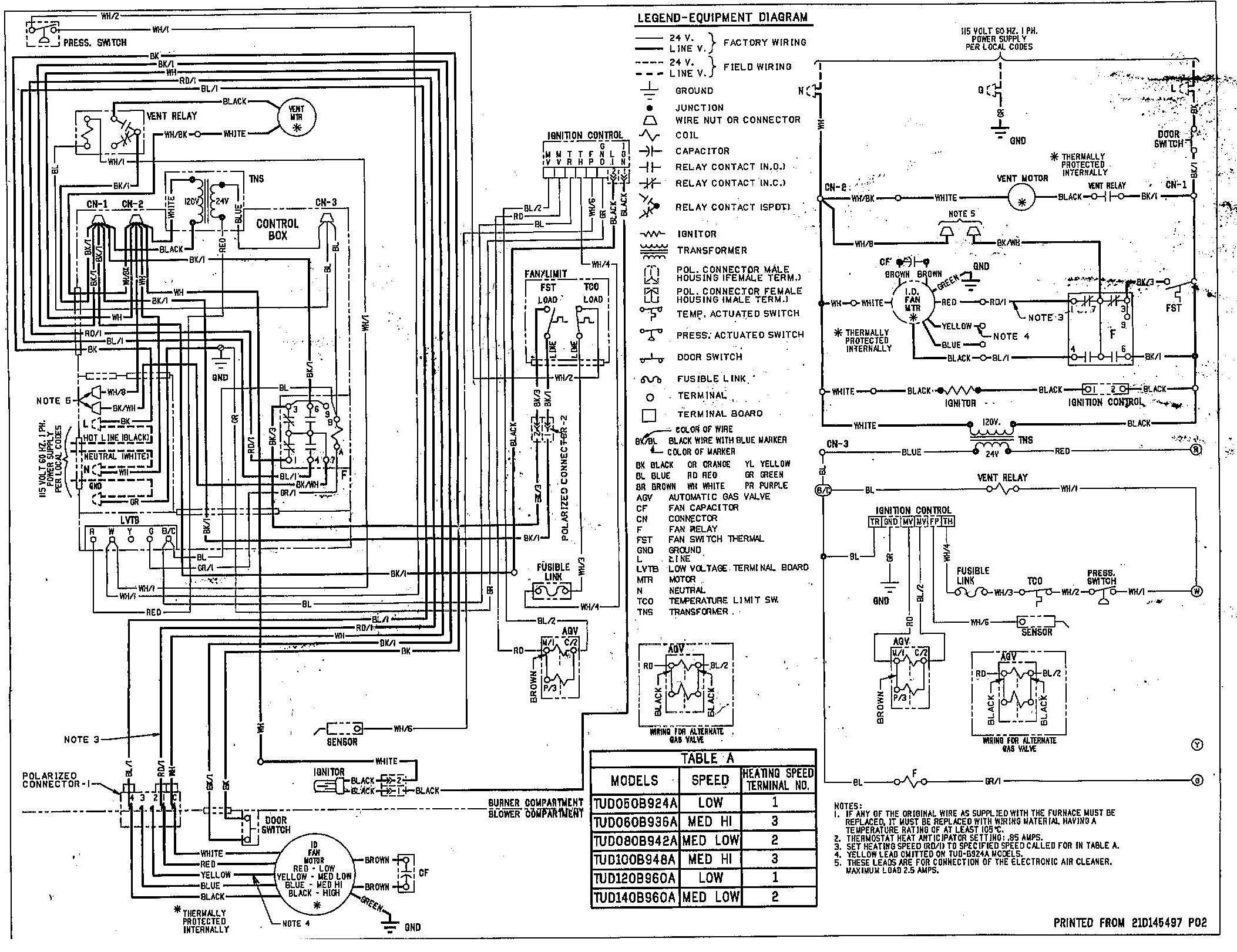 trane unit heater wiring diagram Collection-Trane Wiring Diagram 8-j