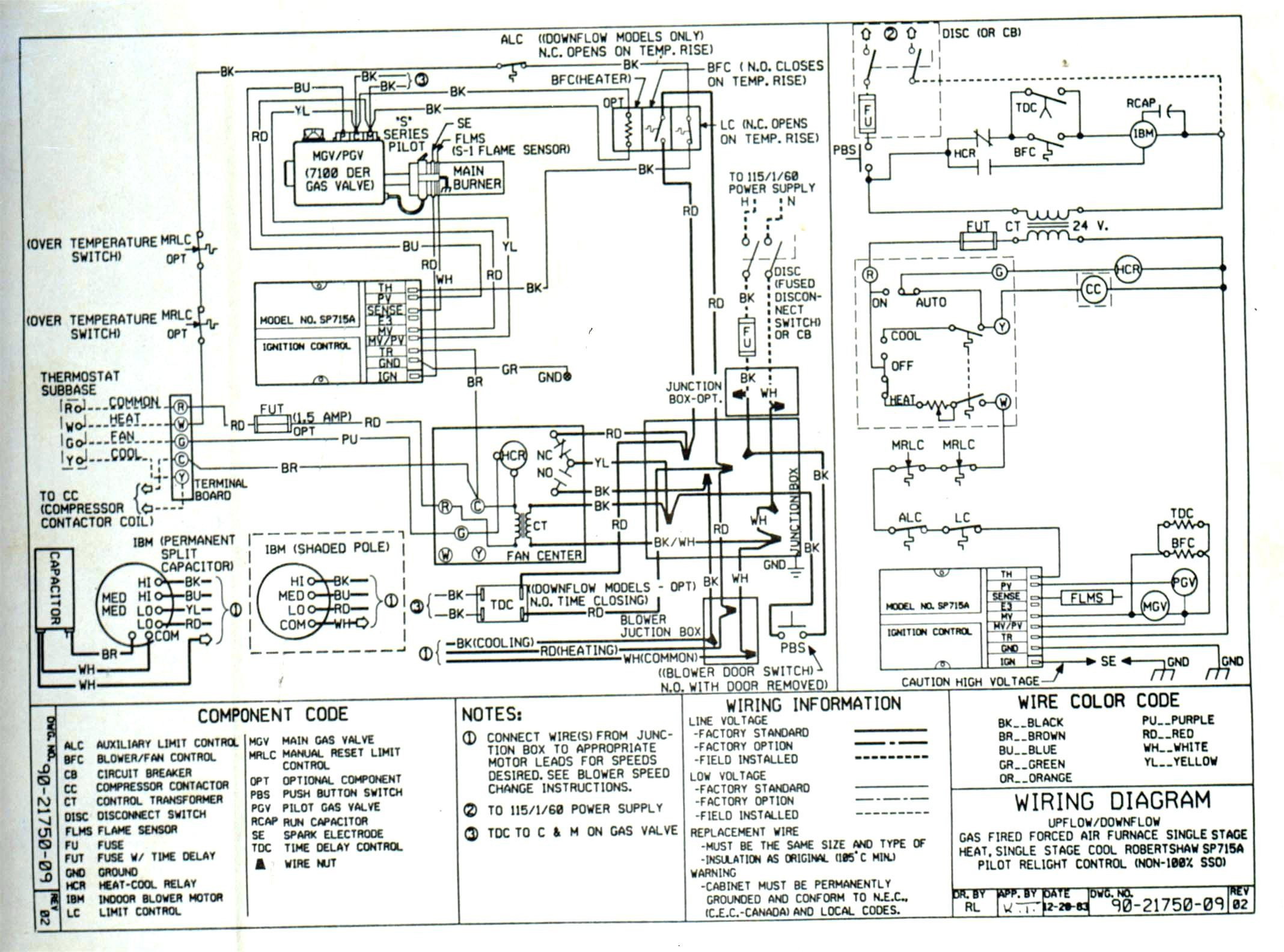 trane xr80 wiring diagram Collection-Trane thermostat Wiring Diagram Luxury Wiring Diagram for Trane Xe1000 Wiring Diagram 11-s