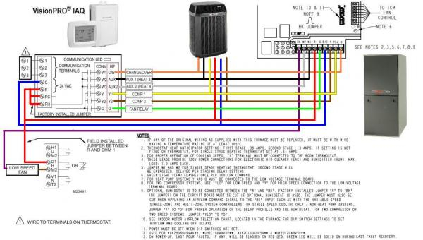Trane Xt500c Thermostat Wiring Diagram