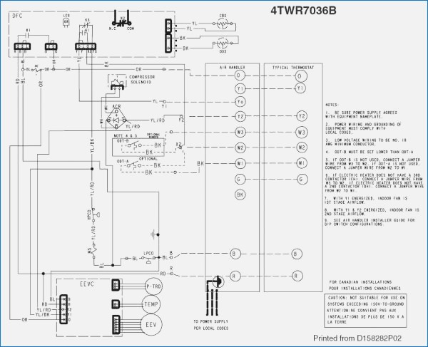 trane ycd 060 wiring diagram Collection-trane ycd wiring diagram wire center u2022 rh girislink co Wiring Diagram Trane Split System 3-n