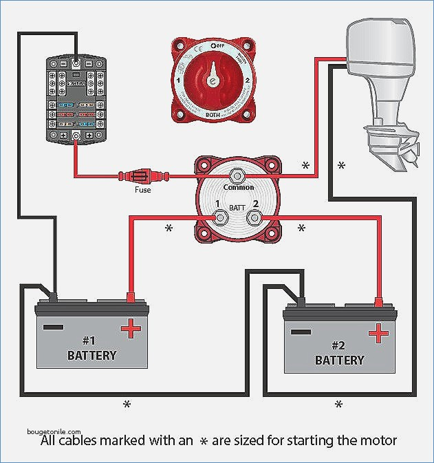 true battery isolator wiring diagram Download-Battery isolator Wiring with Switch Installation Lovely Boat Battery Wiring Diagram – Crayonbox 60 Best 18-n