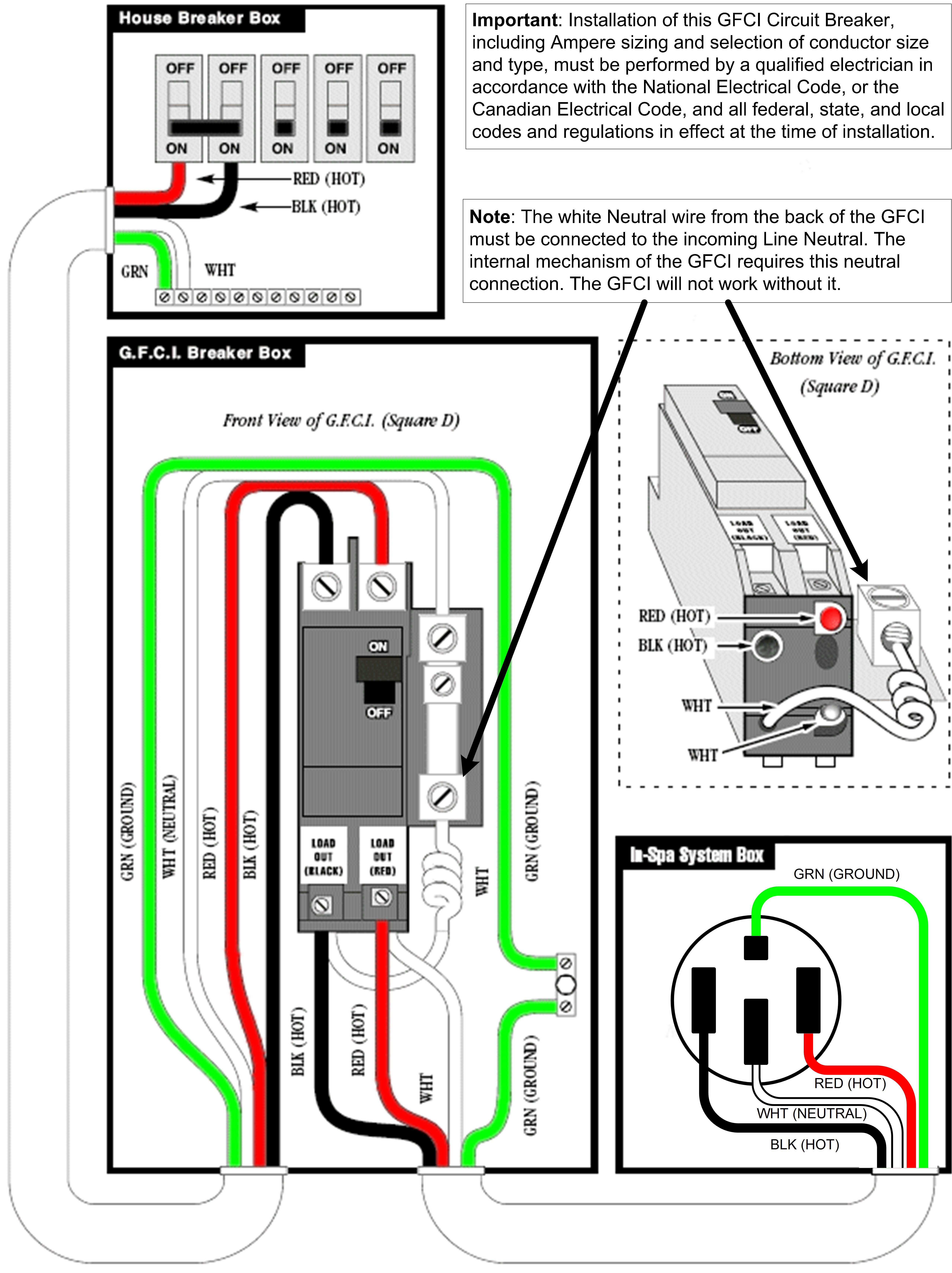 two pole gfci breaker wiring diagram Collection-2 Pole Gfci Breaker Wiring Diagram Fresh Gfi Breaker Wiring Wiring Diagram 16-i