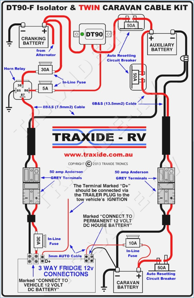 auto trailer wiring diagram  schematic diagram  electronic
