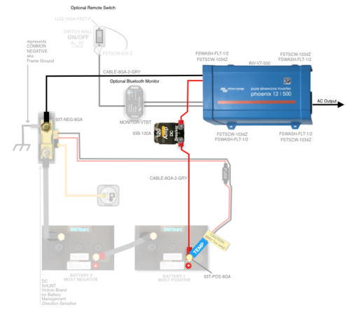 victron inverter wiring diagram Download-99 VT0500KIT AGM 2-i