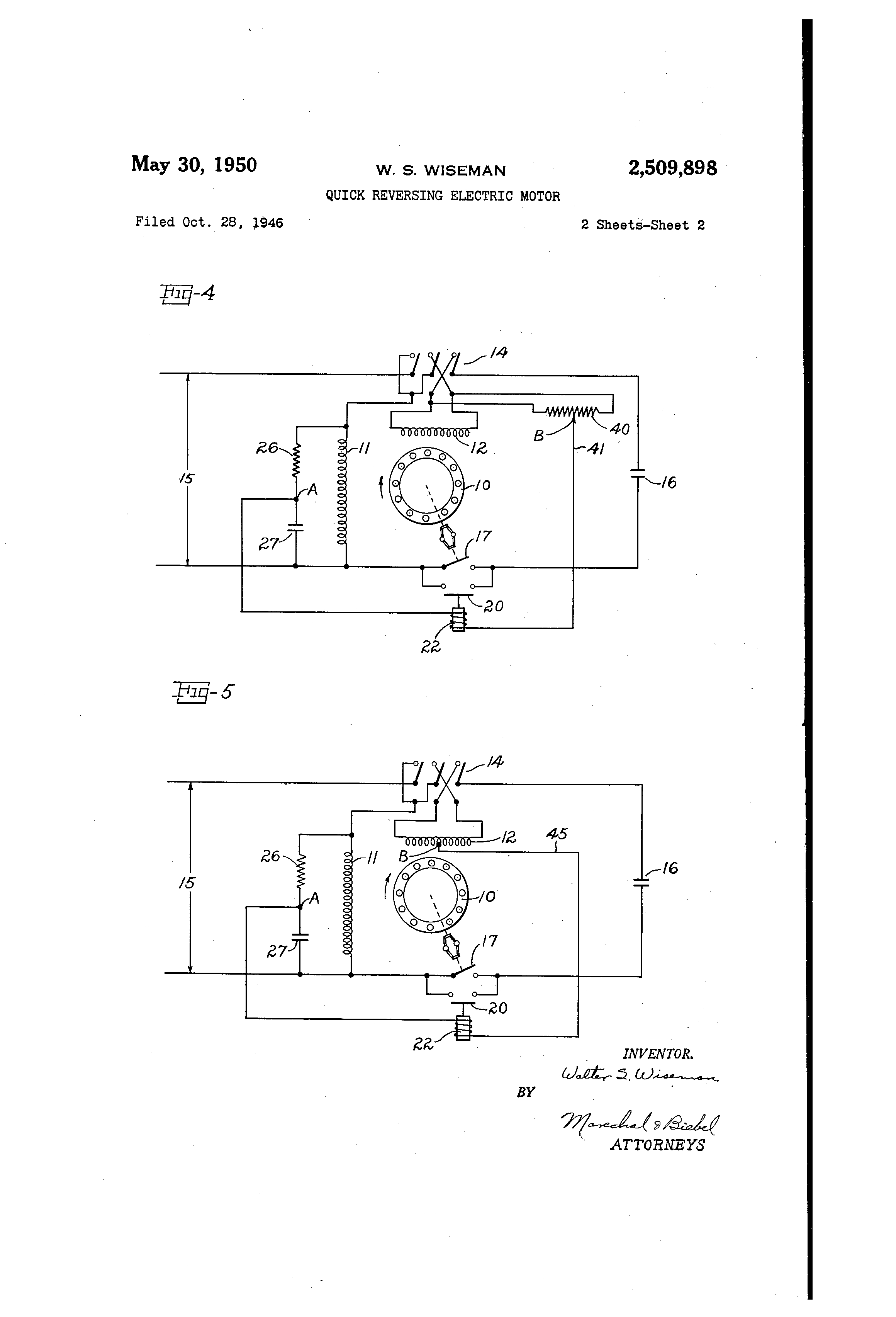 wagner electric motor wiring diagram Download-Wiring Diagram for Single Phase Motor Luxury Patent Us Single Phase Motor Reversing Starter Google 3-k
