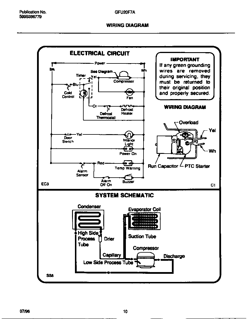 Walk In Condenser Wiring - DIY Enthusiasts Wiring Diagrams •