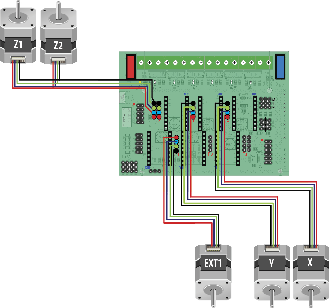 wantai stepper motor wiring diagram Collection-ponent Radds Electronics For 3d Printer Stepper Motor Control Circuit Diagram Wiring Sample stepper 15-j
