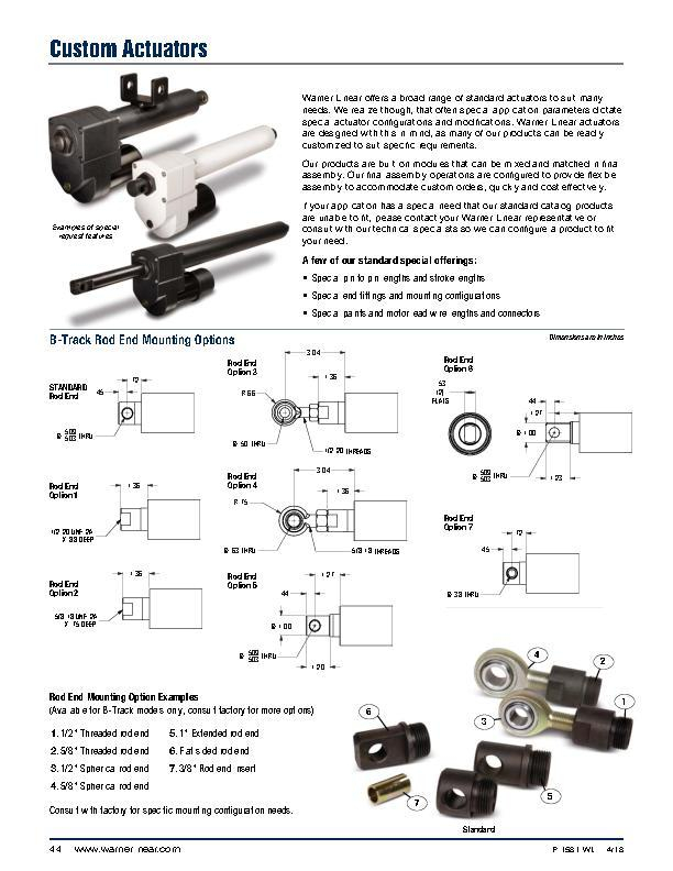 Warner Linear Actuator Wiring Diagram Gallery