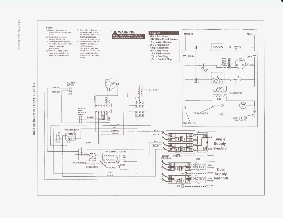 warren duct heater cbk wiring diagram Collection-Best Rheem Manuals Wiring Diagrams Electrical Circuit 7-i