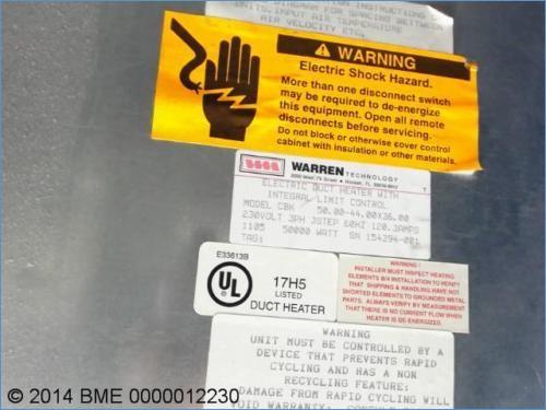 warren duct heater cbk wiring diagram Download-WARREN TECHNOLOGY DUCT HEATER MODEL CBK 230V 60HZ 120A WATT · Best Rheem Manuals Wiring Diagrams 19-p