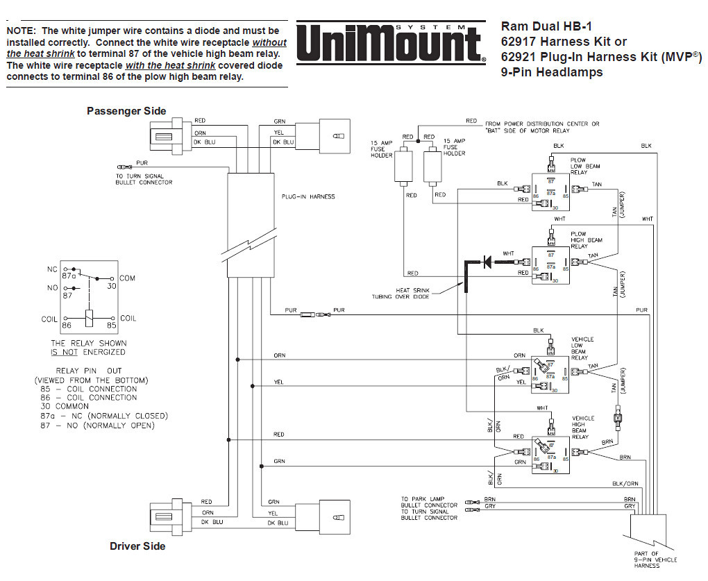 Western Snow Plow solenoid Wiring Diagram - Western Snow Plow Wiring Diagram Unimount Library Ayurve Co Exceptional ford 11h