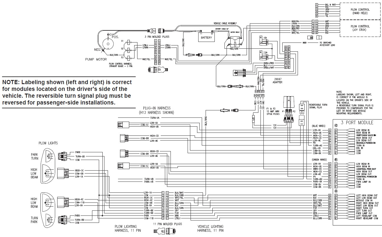 Western Mvp Wiring Diagram | Wiring Diagram on