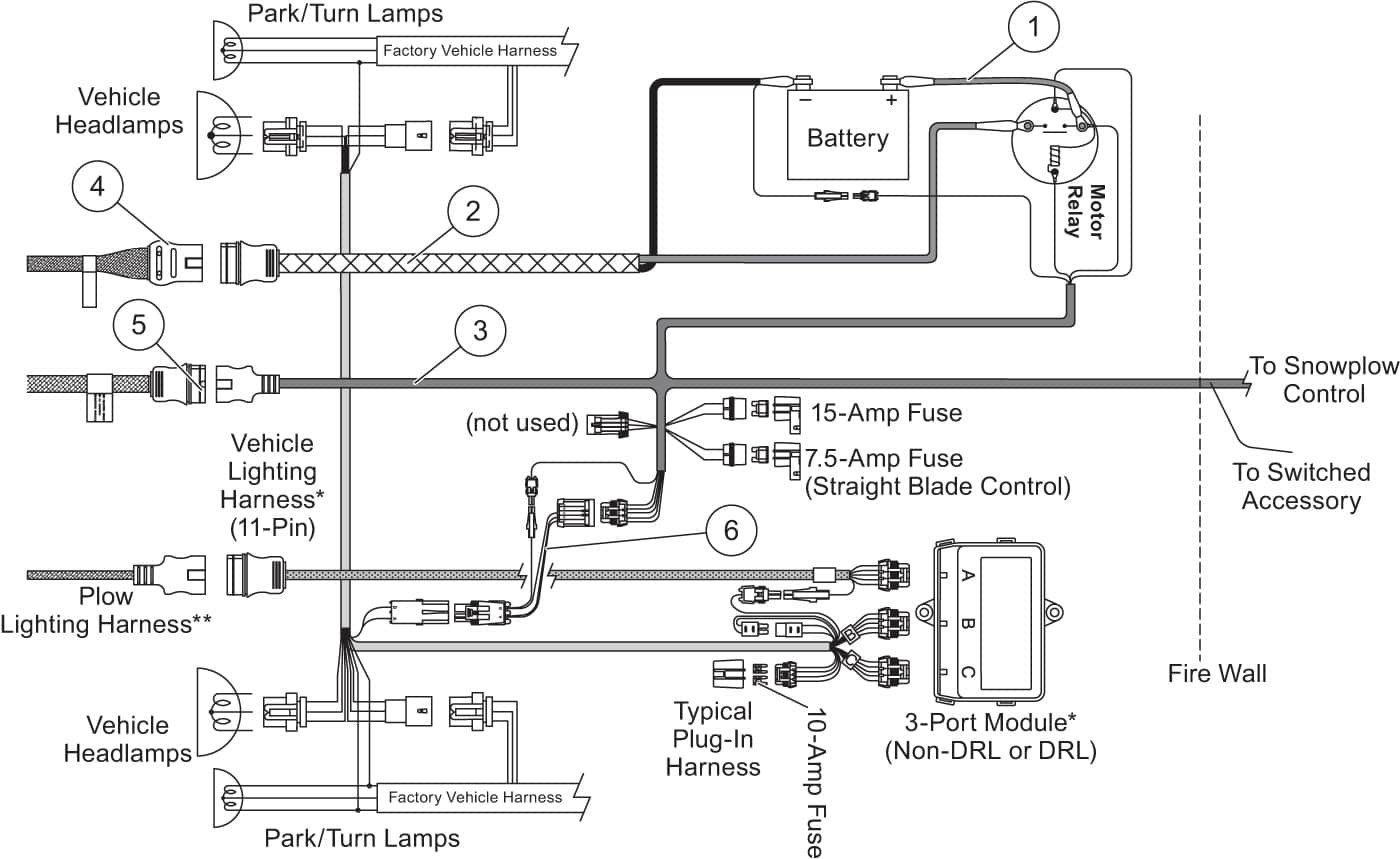 WRG-8538] Western Plow Solenoid Wiring Diagram on