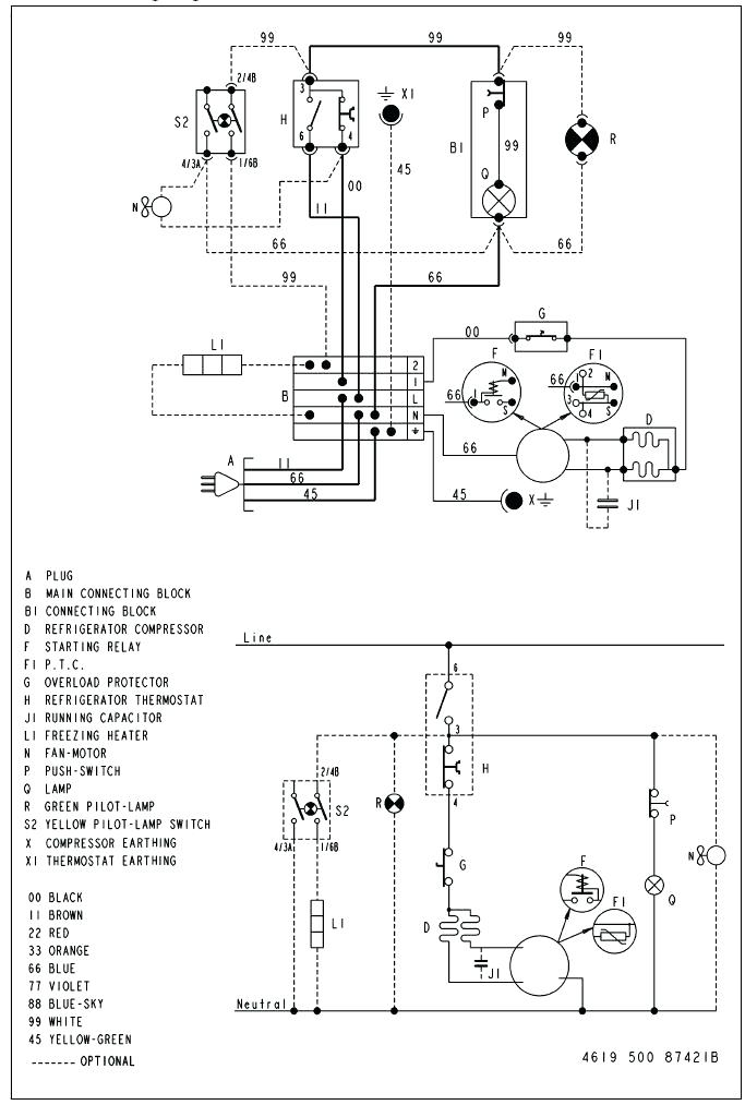 wiring diagram besides whirlpool gold refrigerator parts diagram on