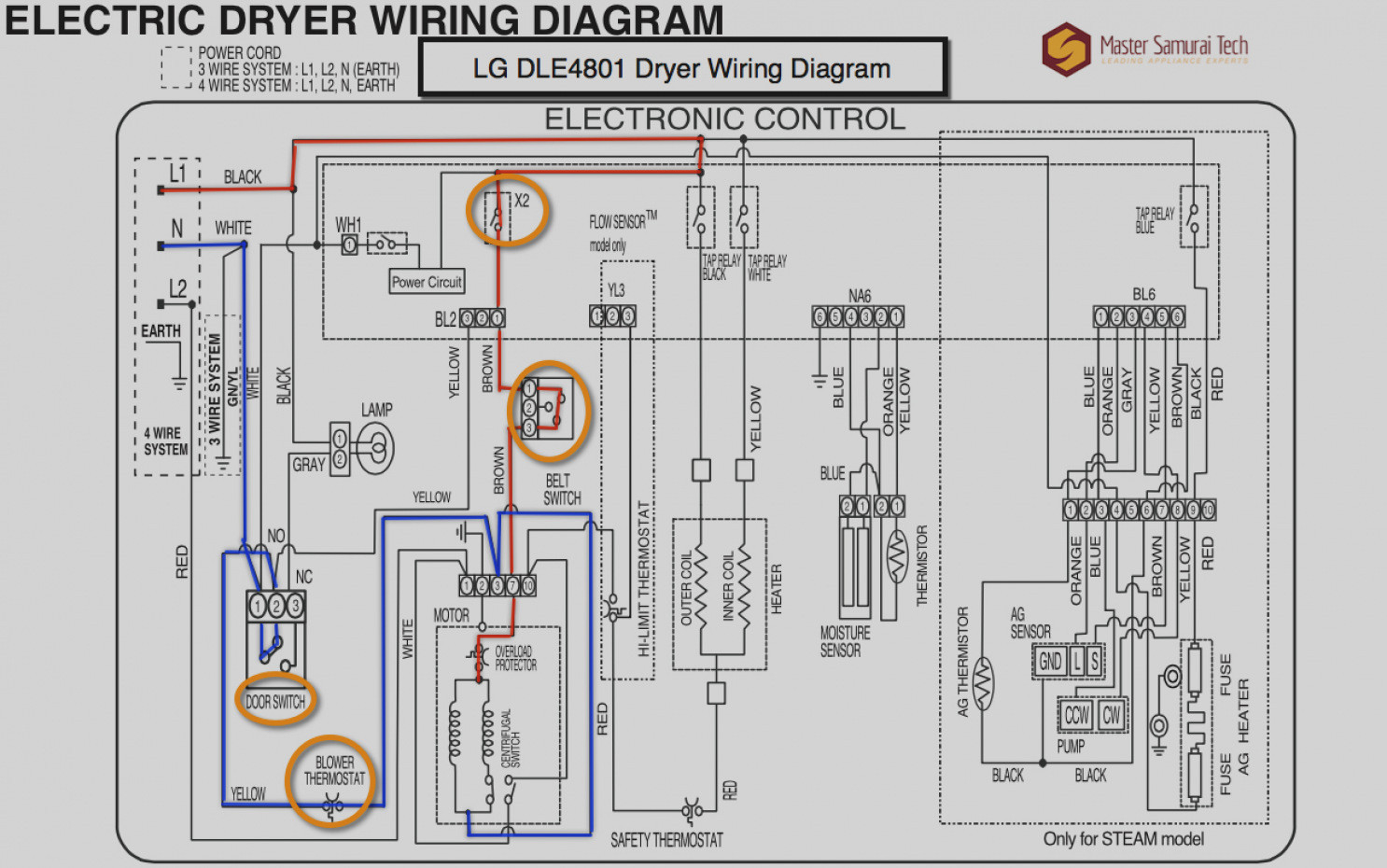 Whirlpool Gas Dryer Wiring Diagram Collection | Wiring Diagram Sample