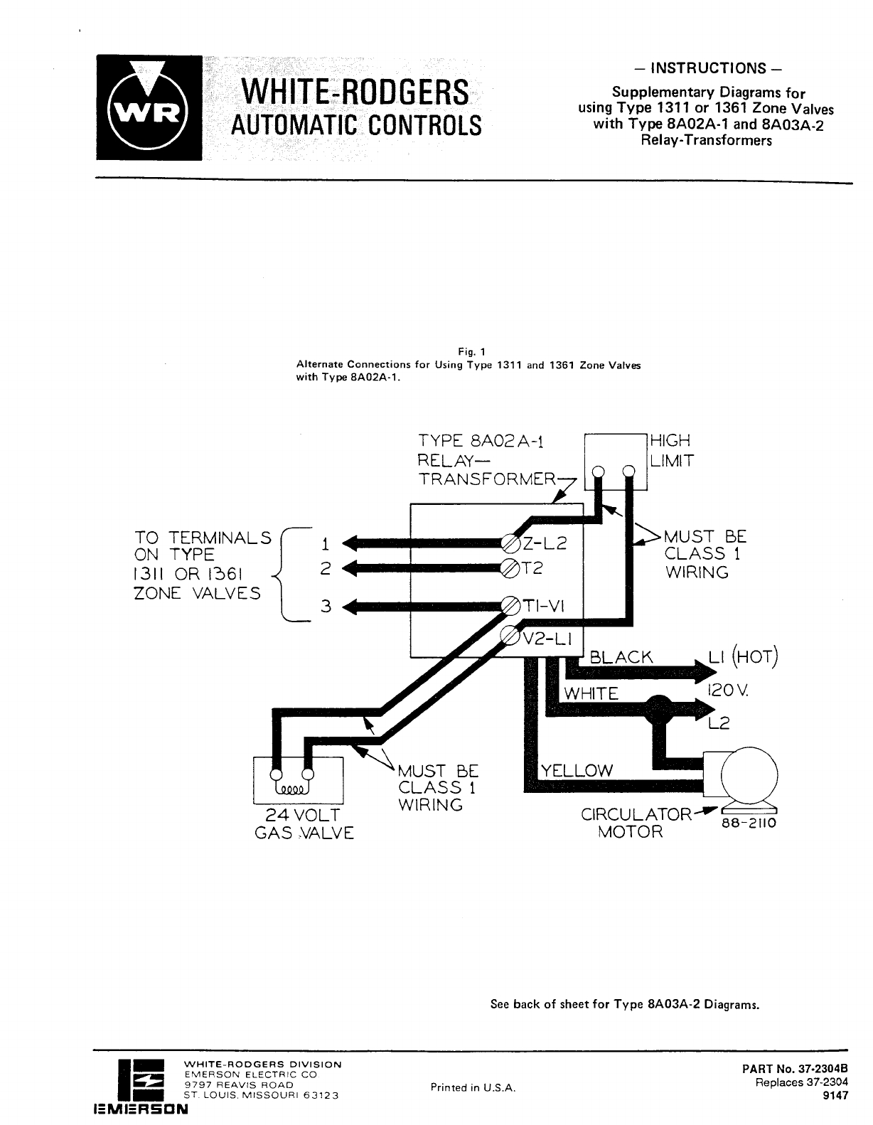 white rodgers zone valve wiring diagram likewise white rodgers rh abetter pw