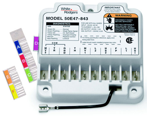 white rodgers 50e47 843 wiring diagram Collection-50E47 843 Universal Non Integrated Hot Surface Ignition Control With Variable Timings Tri Color LED Indicator 16-i