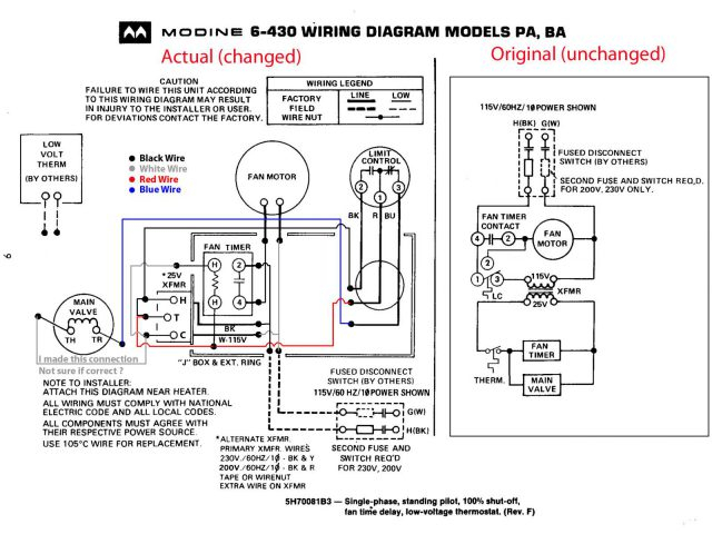 white rodgers thermostat wiring diagram 1f80 361 sample