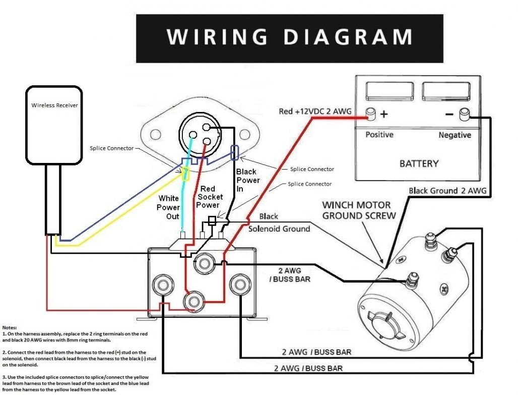 winch wireless remote control wiring diagram Collection-Mile Marker Solenoid Wiring Diagram Diagrams Schematics Champion Winch Wiring Diagram Wiring Solutions from badland wireless winch remote control 7-r