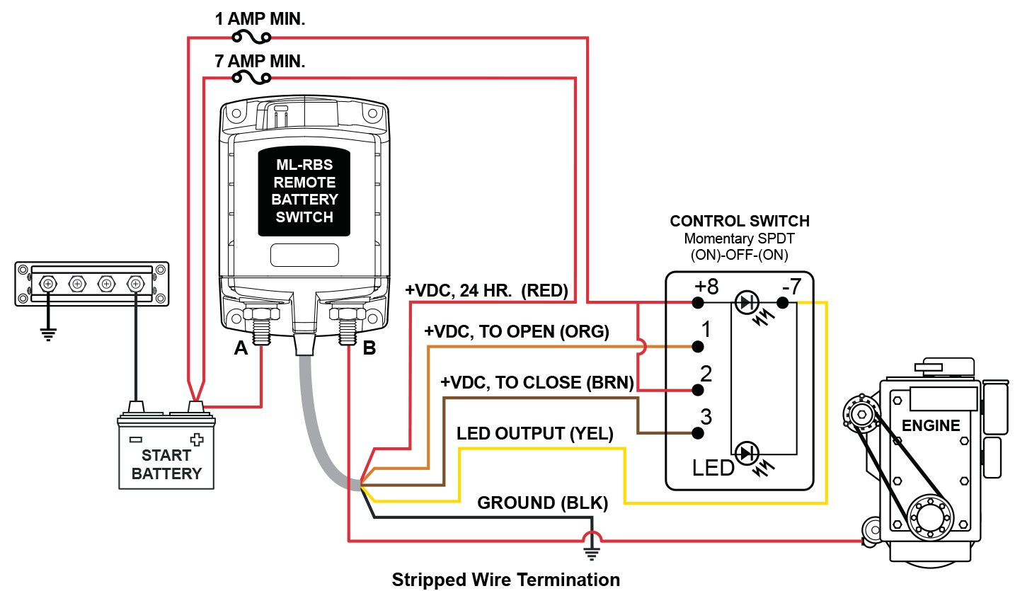 winch wireless remote control wiring diagram Download-Winch Remote Control Wiring Diagram 20-l