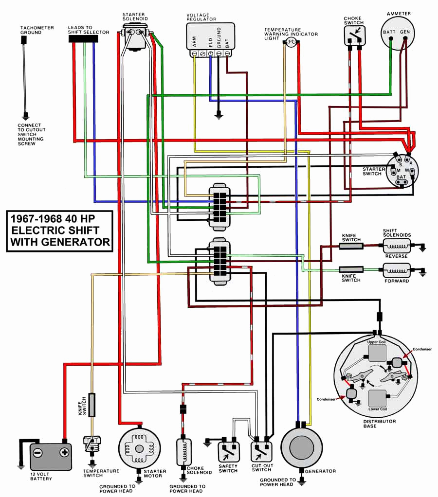 50 Hp Evinrude Power Pack Wiring Diagram | Wiring Library