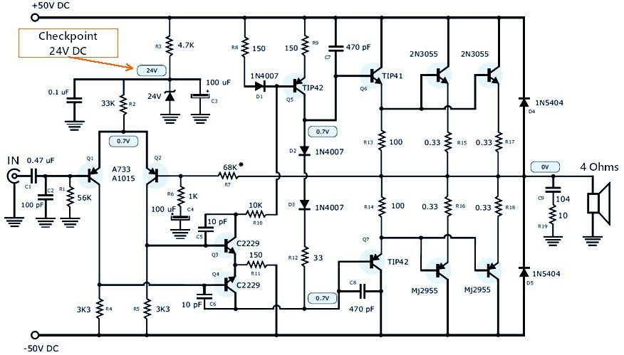 wiring diagram for a power pack pp 20 Download-This 200 Watt high quality power audio amplifier will give you top class quality for loudspeaker 4 – 8 ohm Frequency range Voltage with current max You 13-e