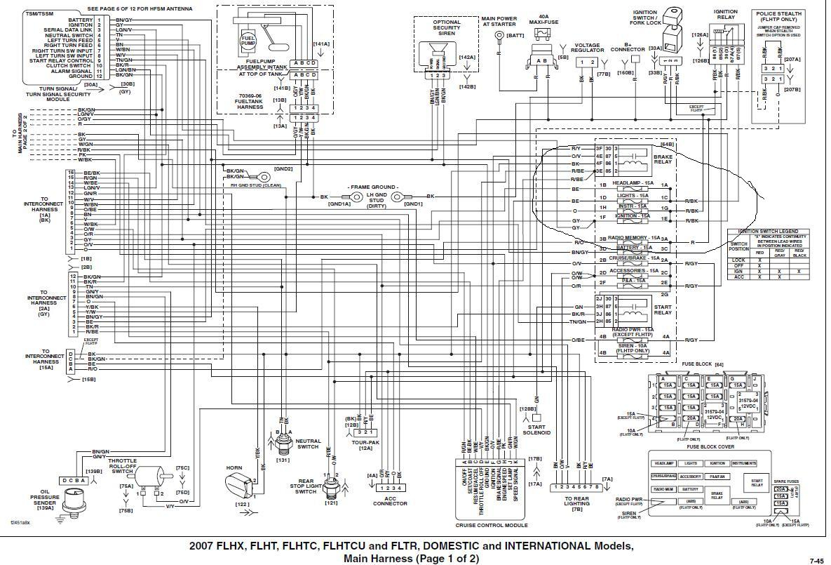 2011 flht wiring diagram