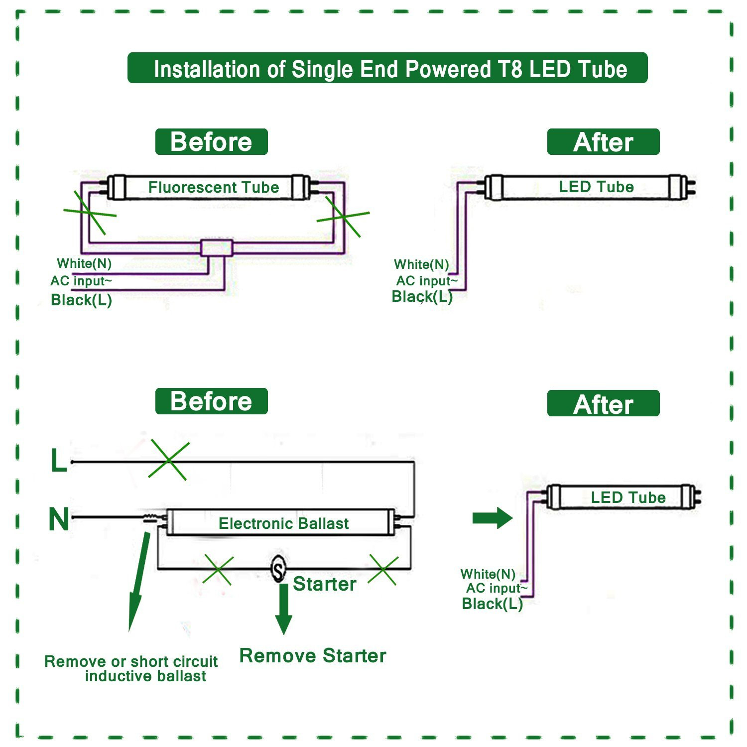 wiring diagram for led tube lights Download-t8 led tube wiring diagram mihella me rh mihella me 18-s