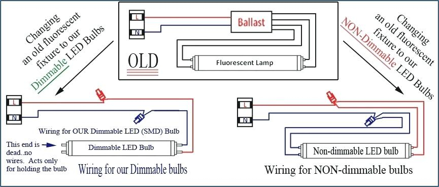 wiring diagram for led tube lights Collection-Wiring Diagram Ballast e Bulb Fluorescent Light Yellow Wire Replacement 7-m