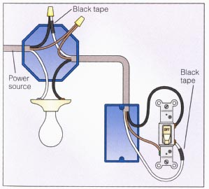 wiring diagram for light switch Download-2 way power at light 10-e