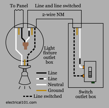 wiring diagram for light switch gallery