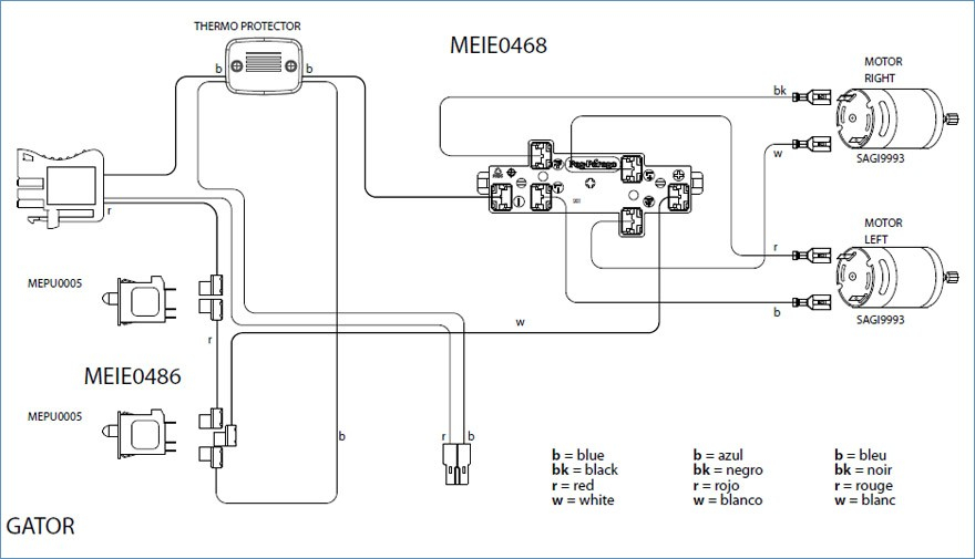 wiring diagram for motorized blinds Download-John Deere Gator Old Style Wire Diagram Misc 14-l