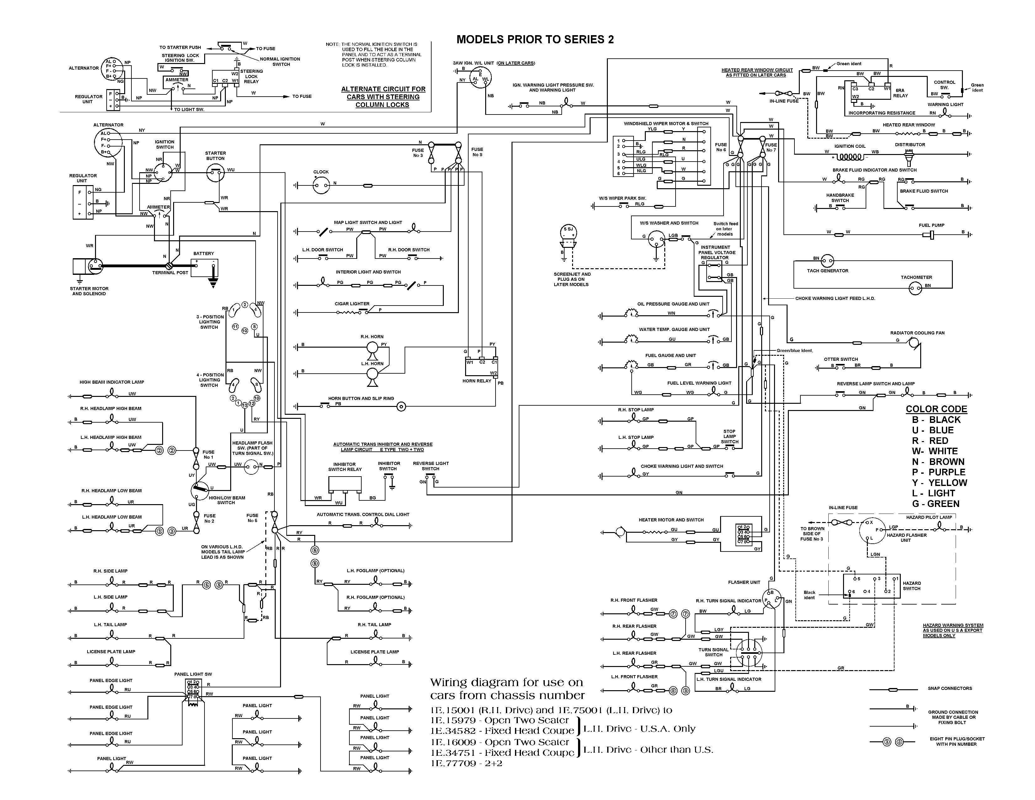E Type Series 3 Wiring Diagram Wiring 1997 VW Beetle Vw Beetle Carburetor  Wiring