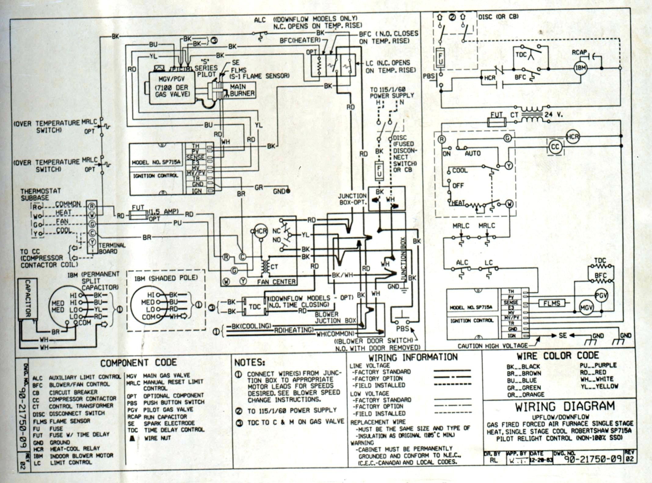 York Electric Furnace Wiring Diagram Collection Sample Pinnacle Diagrams Download Blower Motor Best