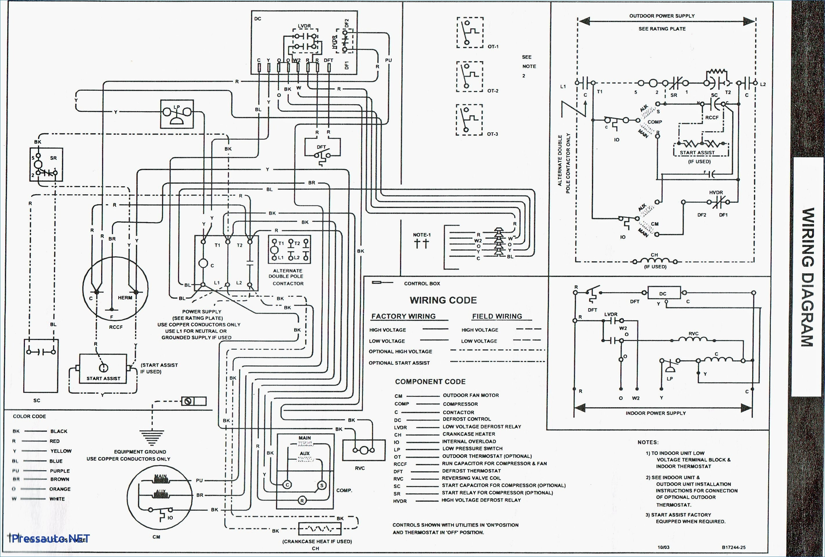 York Electric Furnace Wiring Diagram Collection | Wiring ... on