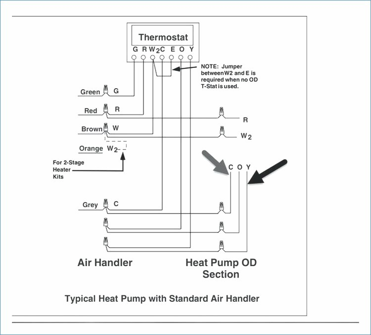 york heat pump thermostat wiring diagram Collection-Outstanding York 96 2 Stage Furnace Wiring Diagram Vignette 15-n